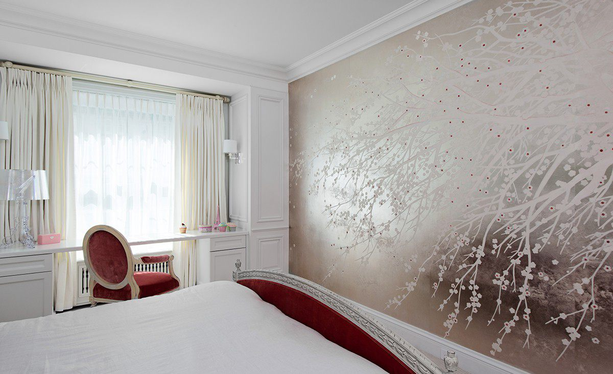modern classic design guest bedroom