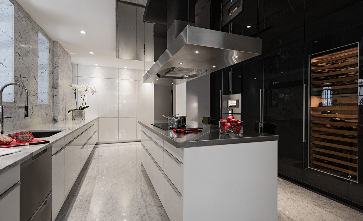 modern classic design kitchen