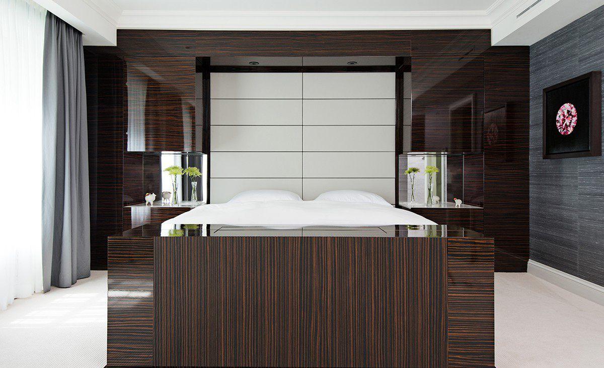 Modern Classic design master bedroom