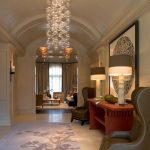Potomac mansion foyer
