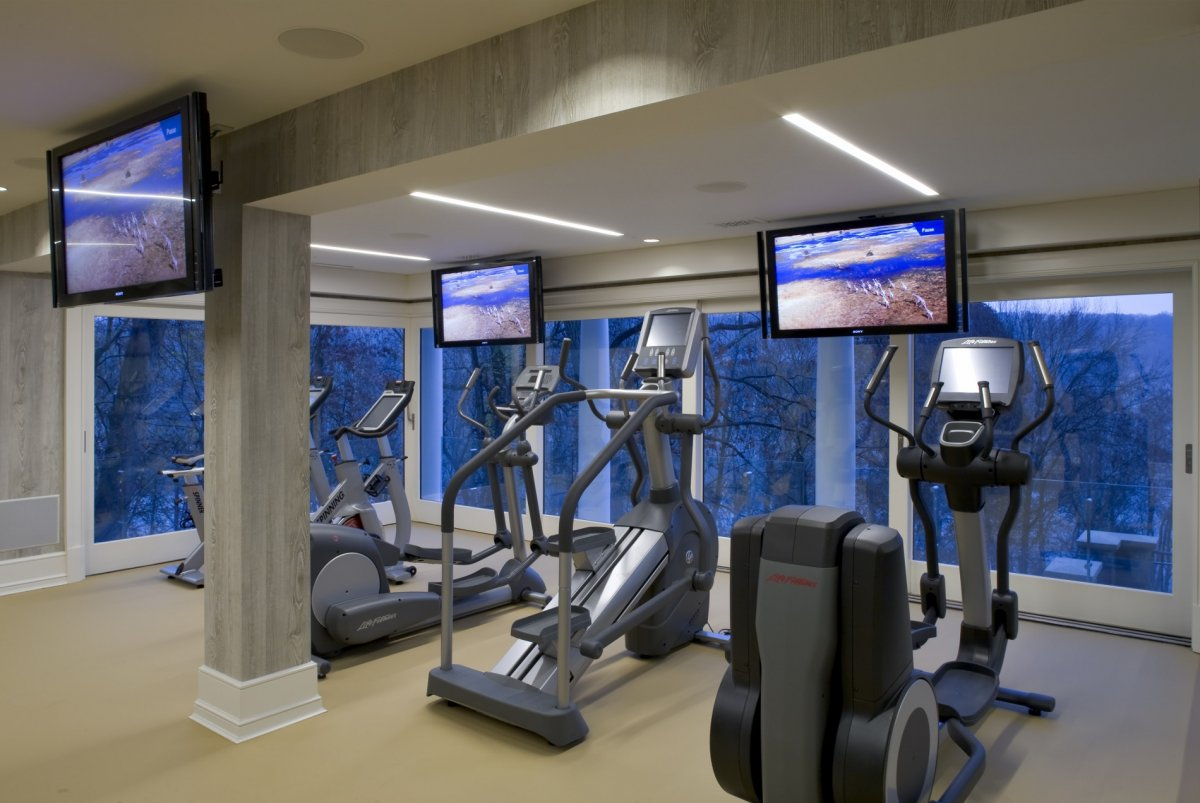 Ambassador's Mansion home gym