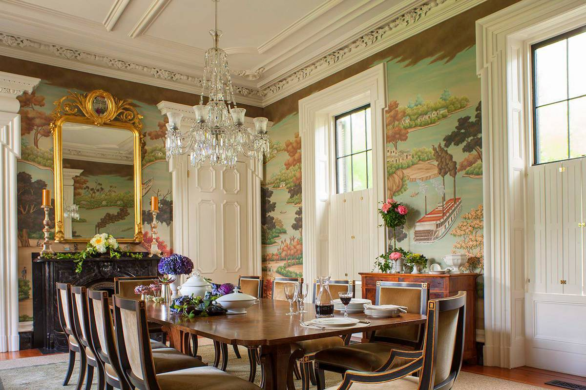 Charleston Classic Design Dining Room