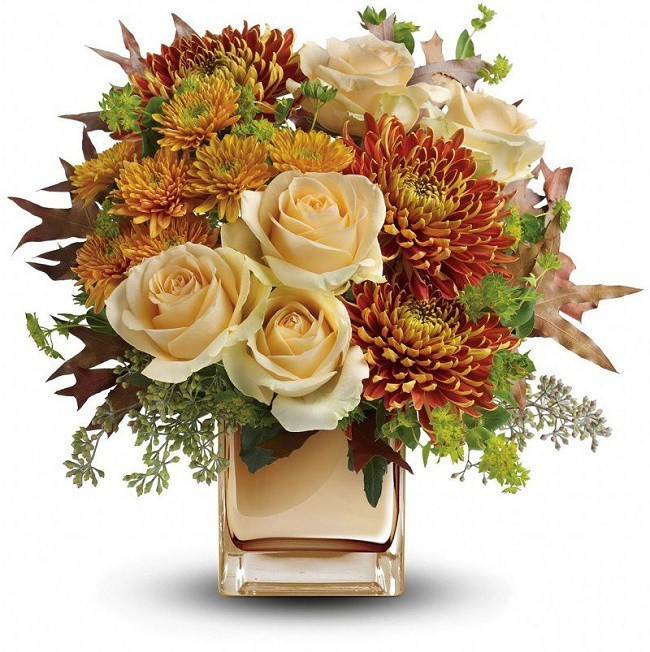 floral- autumn romance bouquet