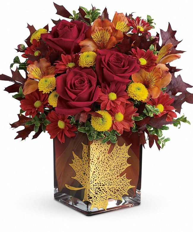 floral-maple leaf bouquet.5