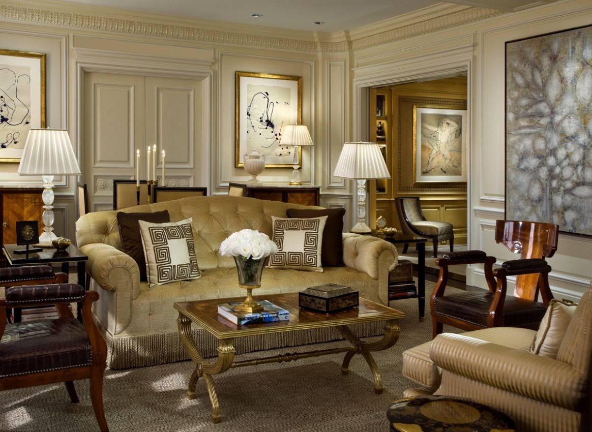 Fifth Avenue Classical Design Living Room B
