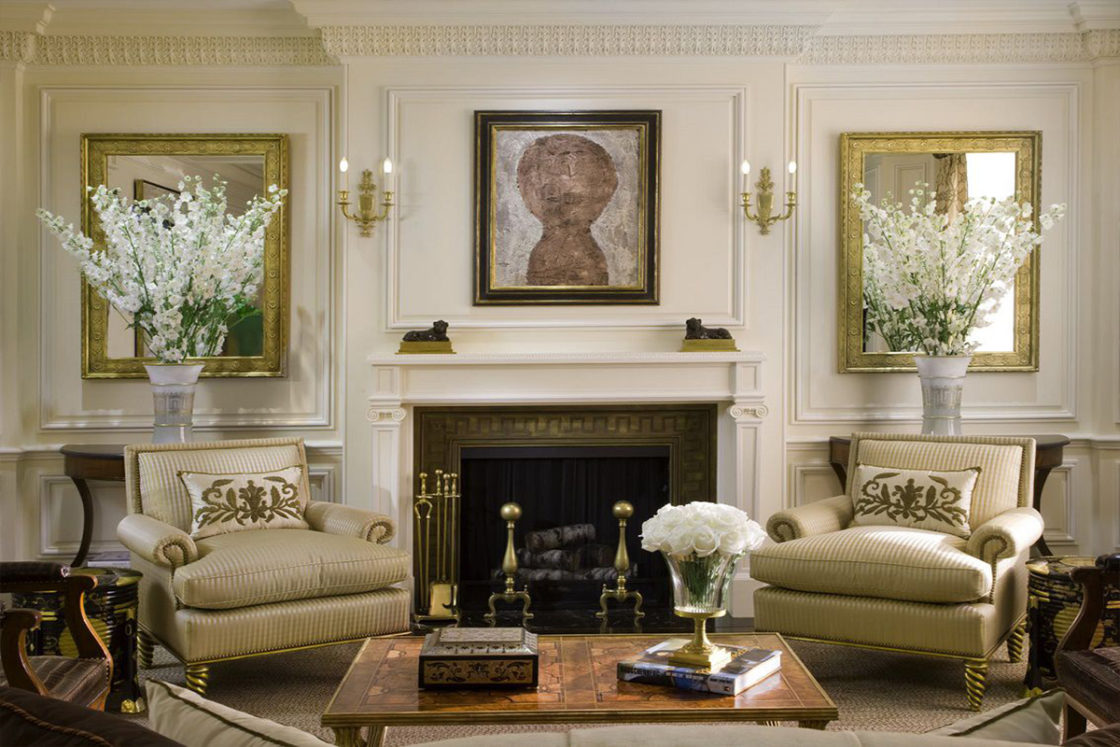 Fifth Avenue Classical Design Living Room