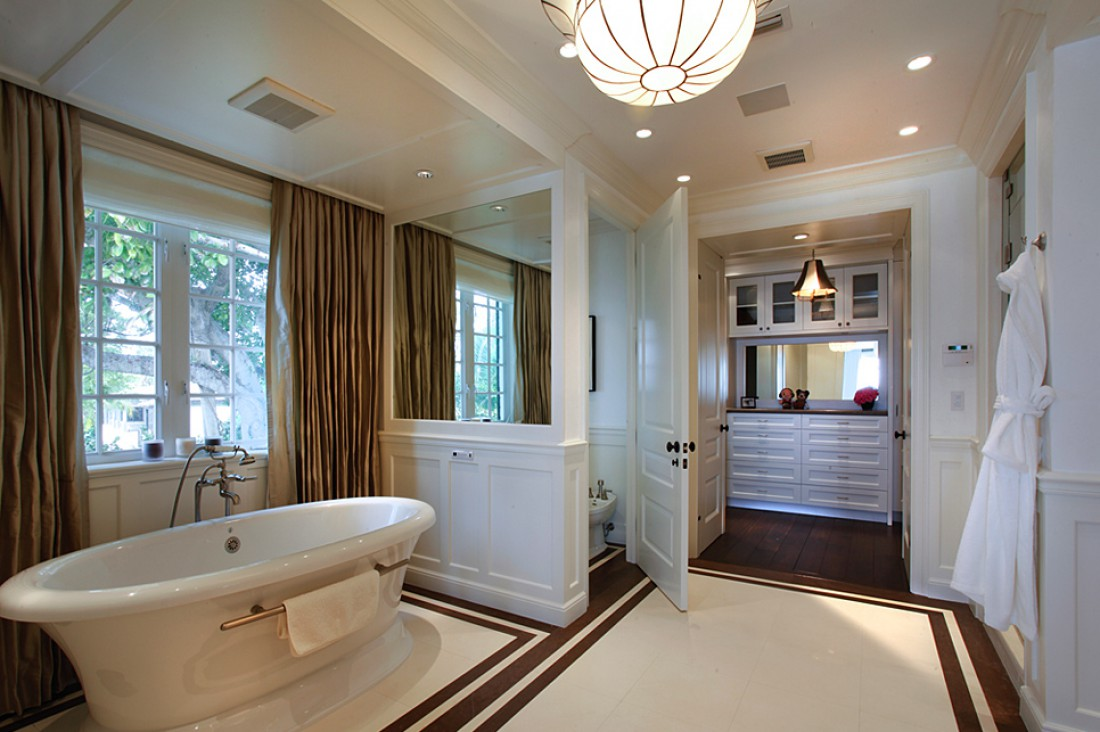 biscayne bay waterfront mansion master bath