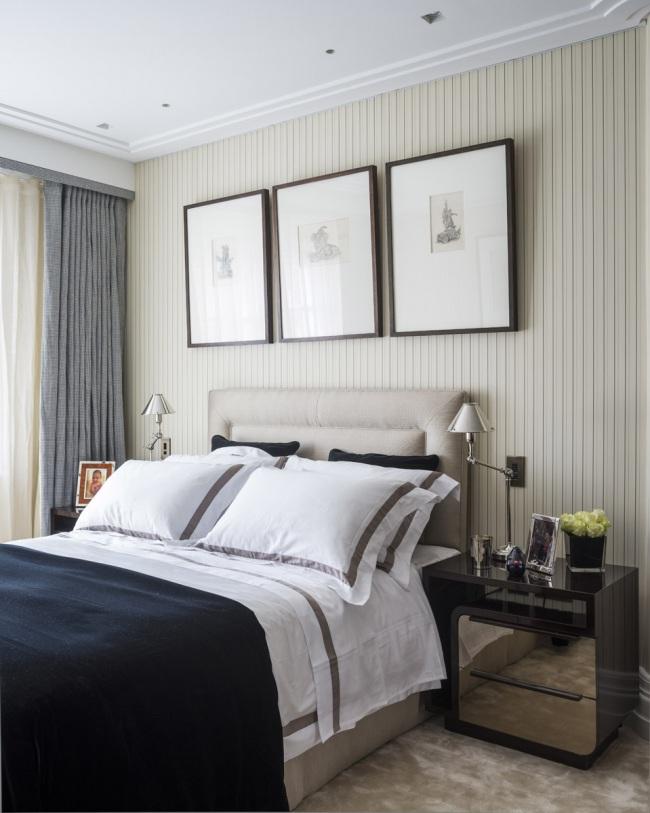knightsbridge townhouse guest bedroom-1