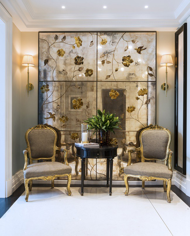 A Classic Knightsbridge Townhouse With A Fresh New Look: Knightsbridge Townhouse Reinvention