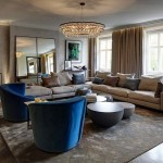 Knightsbridge contemporary penthouse living room cover pic