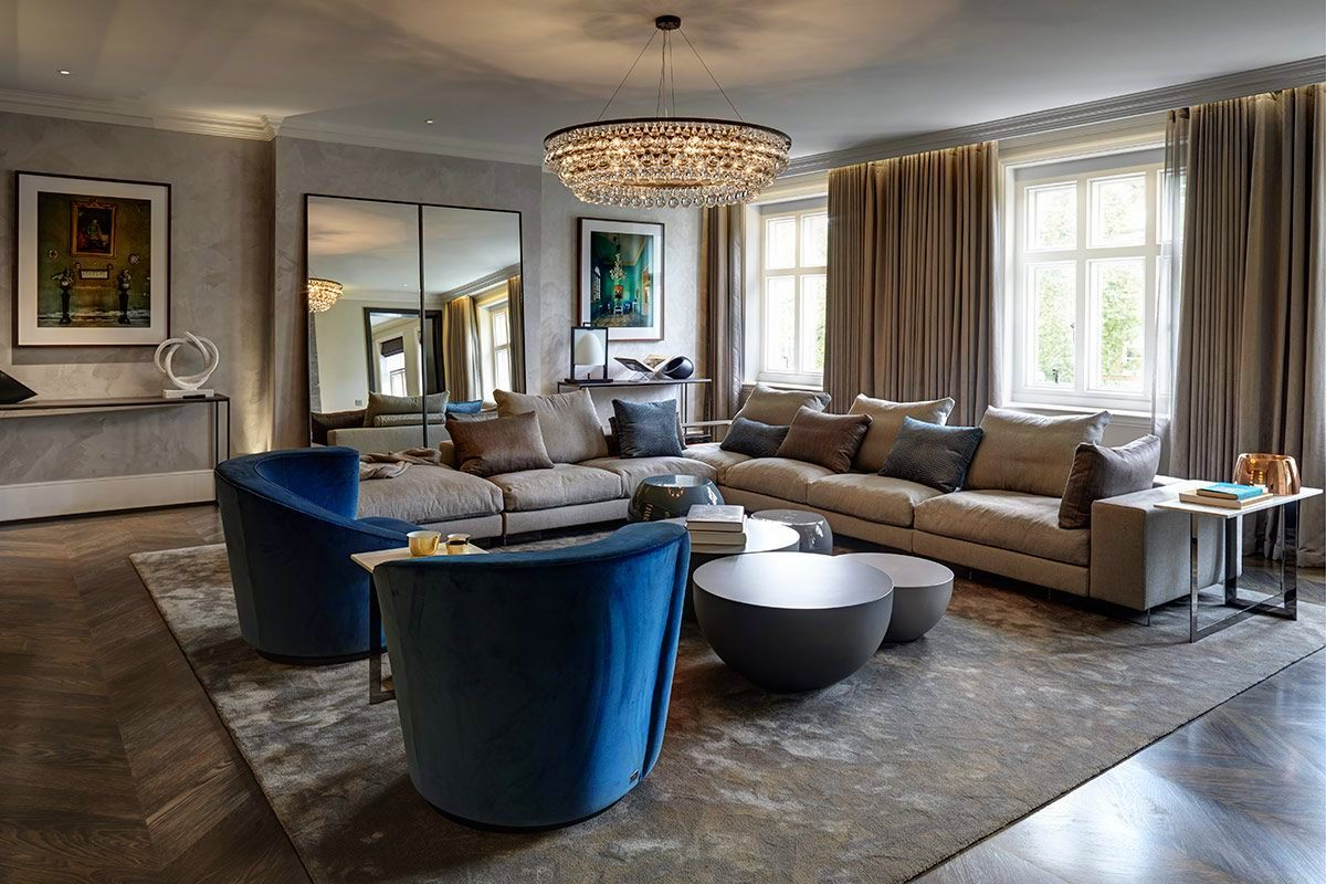 Knightsbridge Contemporary Penthouse Staffan Tollgard