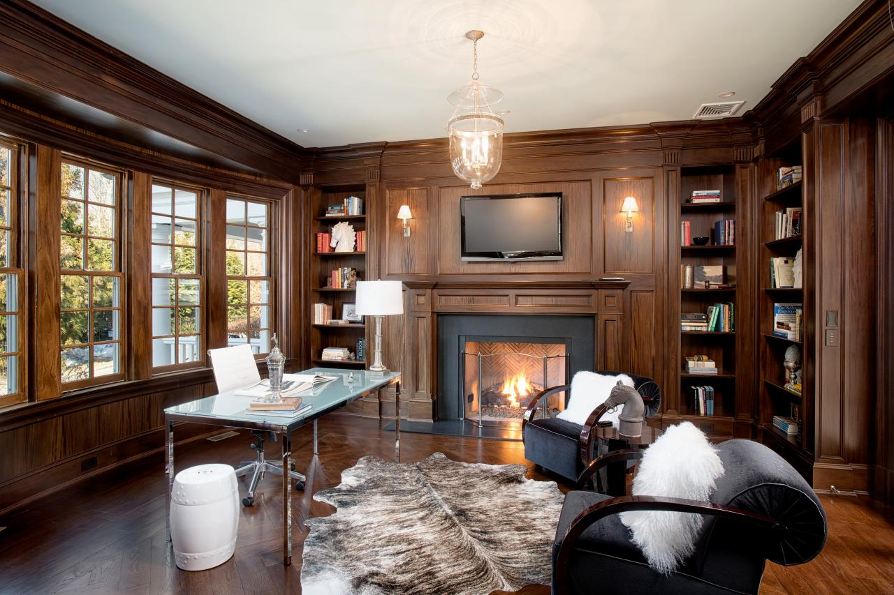 Richard Granoff designed home library