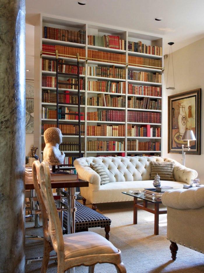 minimalist design library by luis bustamante