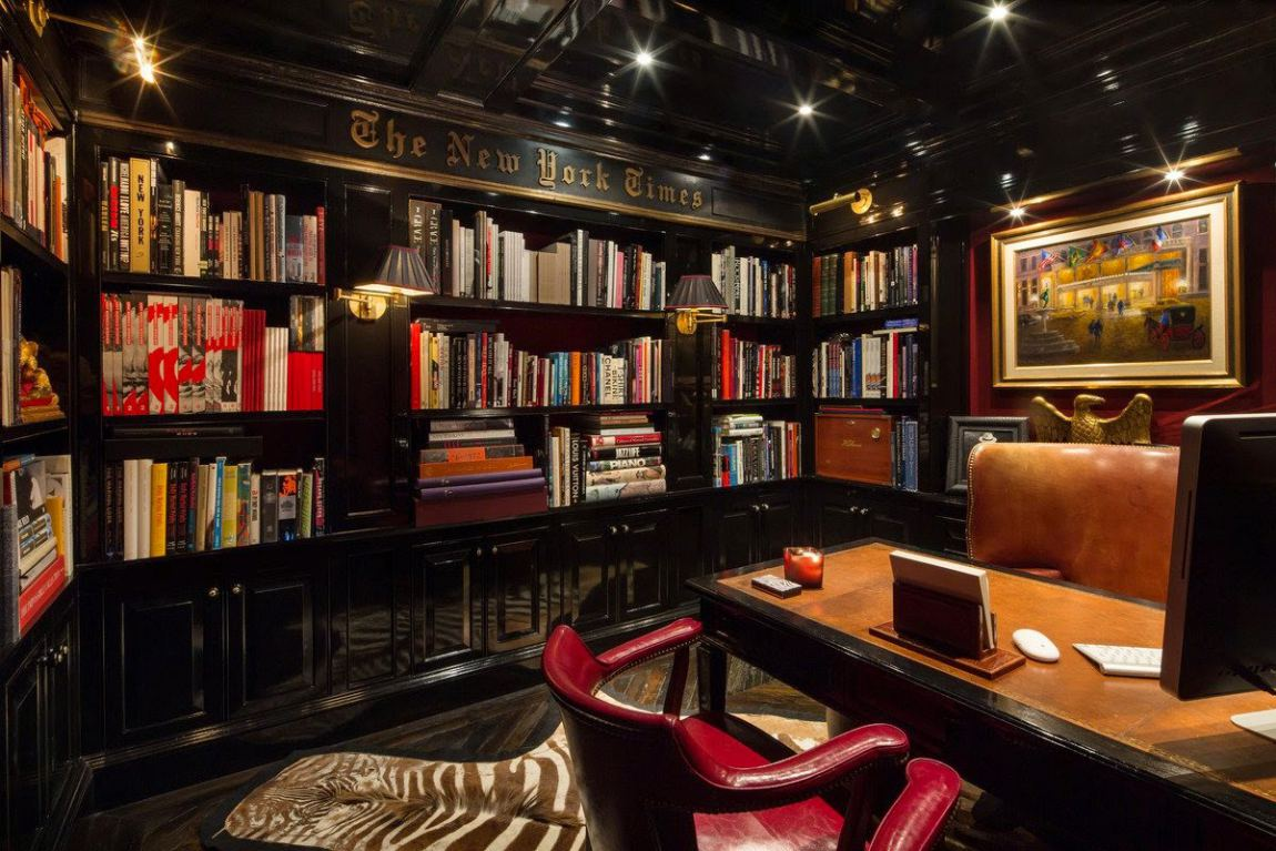 Plaza Penthouse Luxury Design Home Libraries B