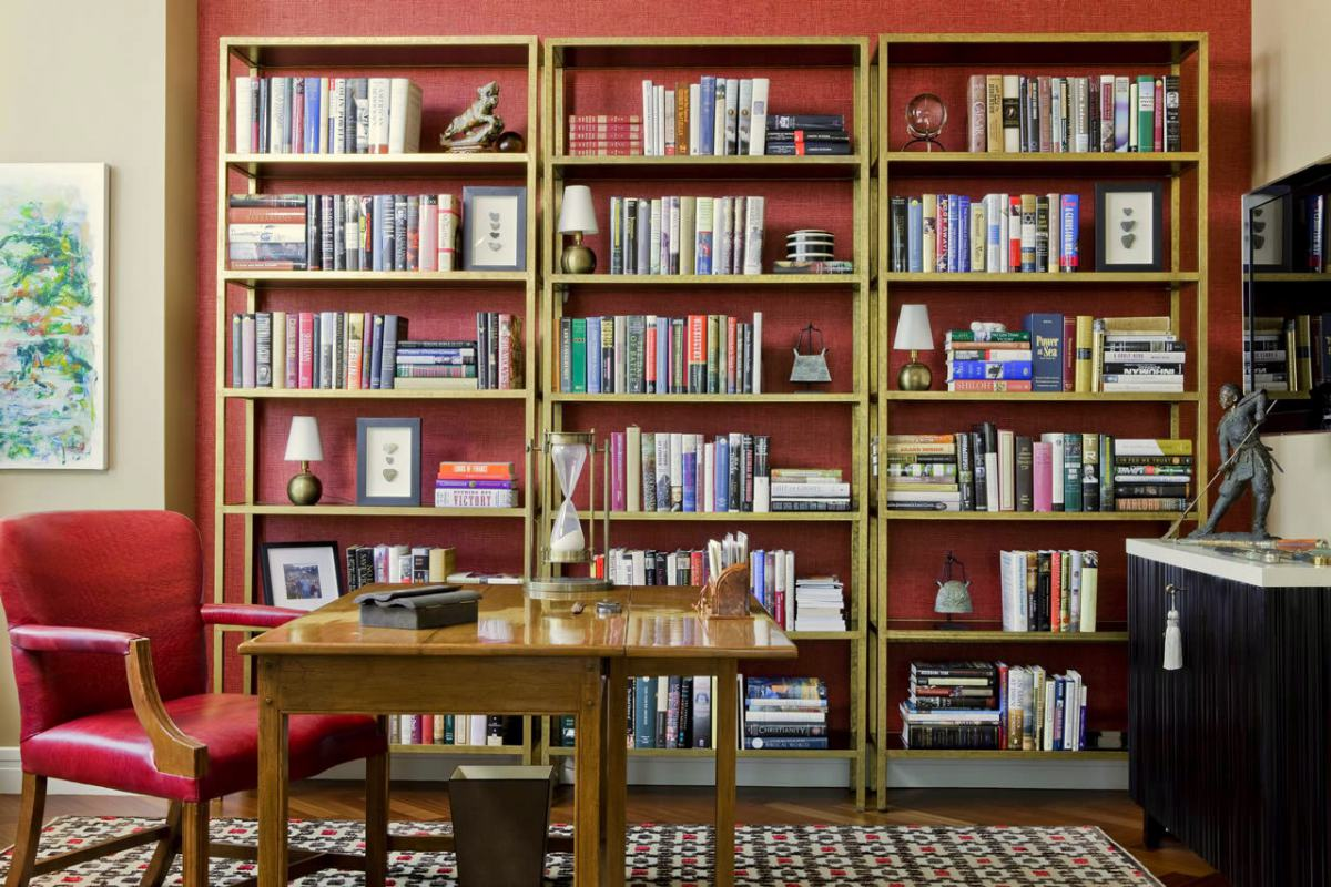 contemporary design library by Terrat Elms