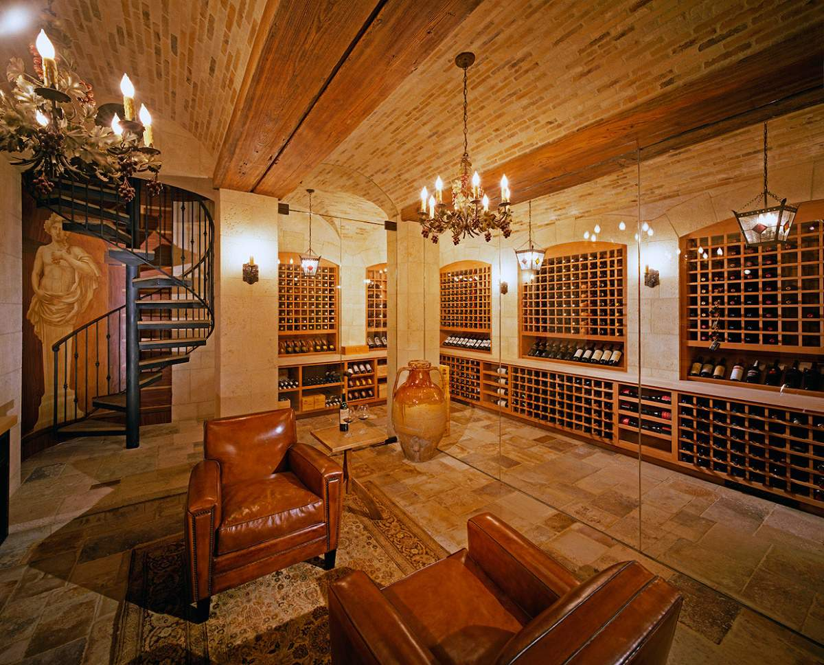 Beverly Park chateau wine storage