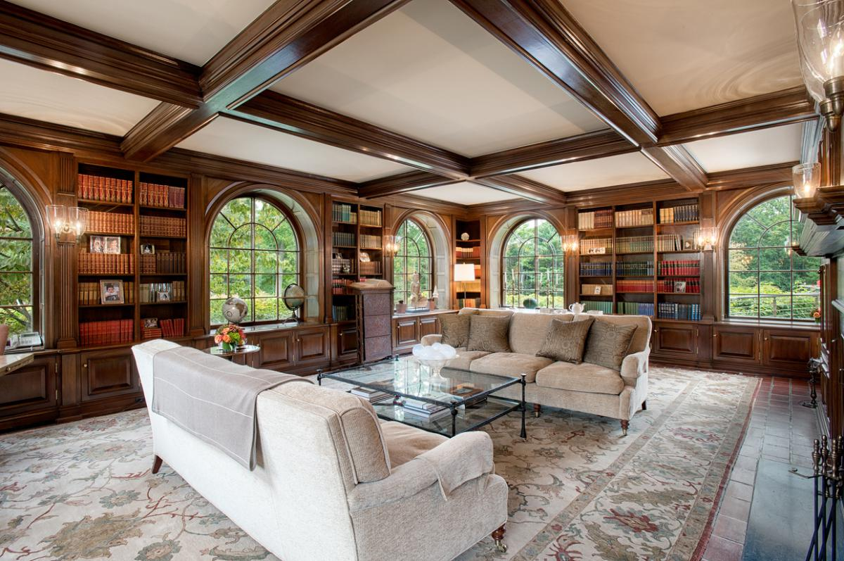 library-Georgian Colonial