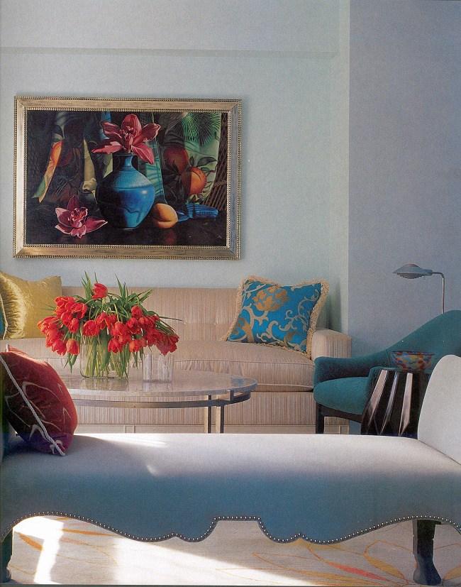 Blue Interior Design Jamie Drake A