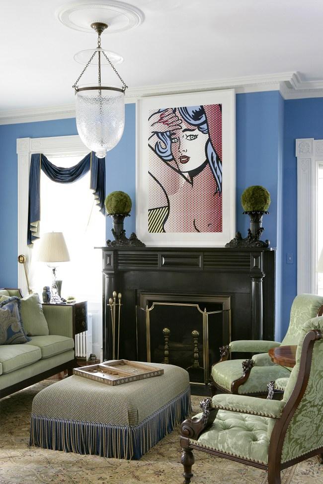 Blue Interior Design 20 Looks Dk Decor
