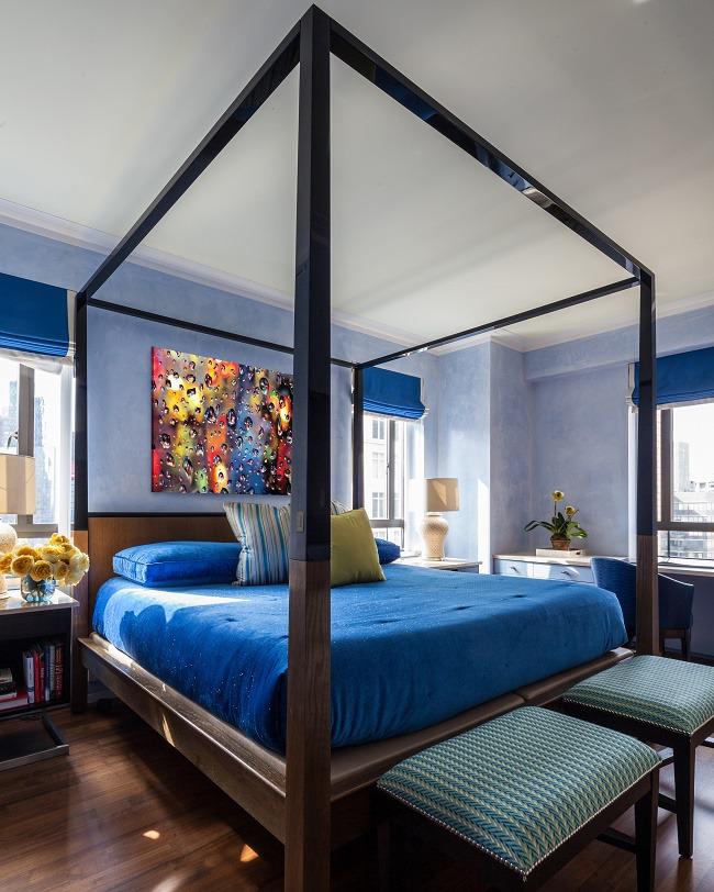 Blue Interior Design Jamie Drake F