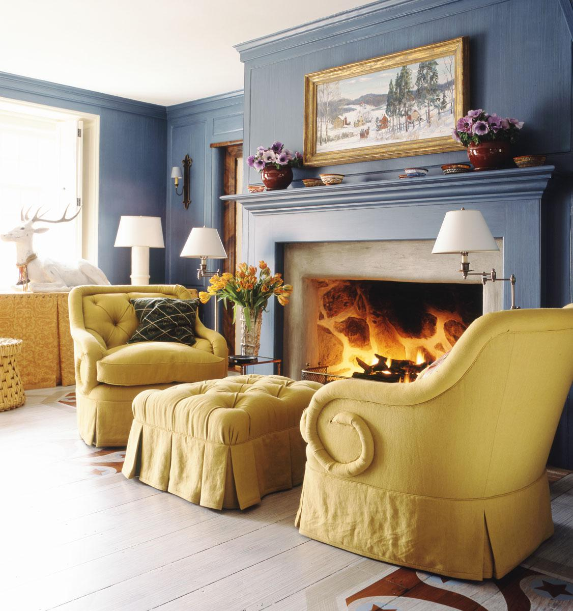 Blue Interior Design Inspiration 20 looks