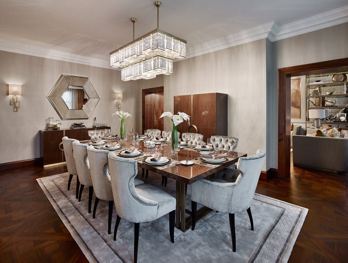elicyon contemporary luxury dining room