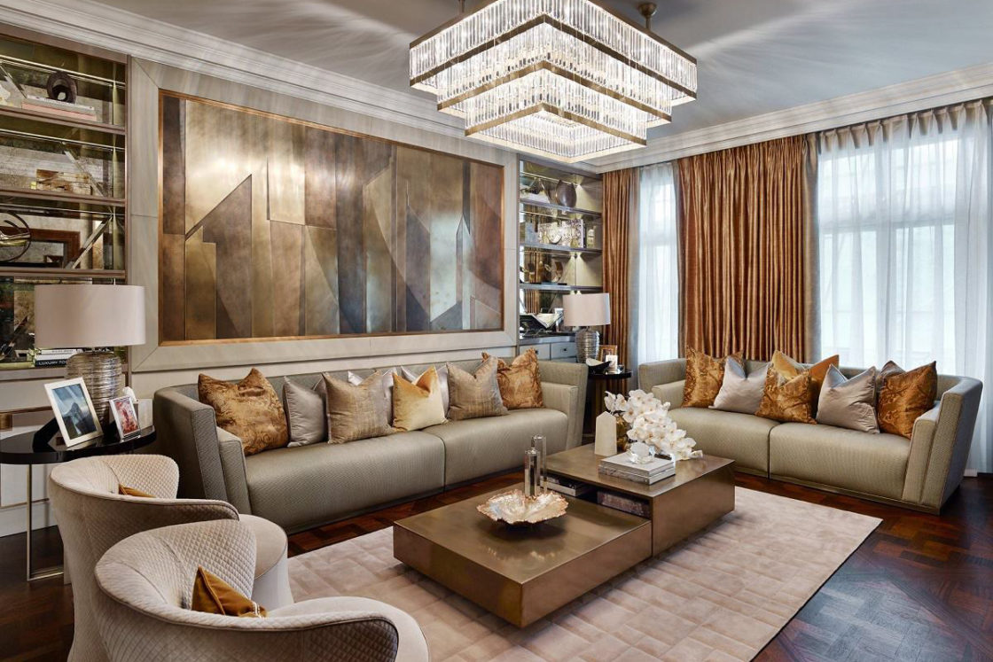 Luxury Interior Designs: Contemporary Luxury Design: Hyde Park