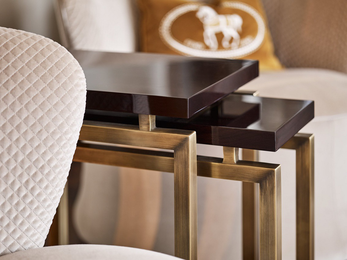 elicyon contemporary luxury living room side tables