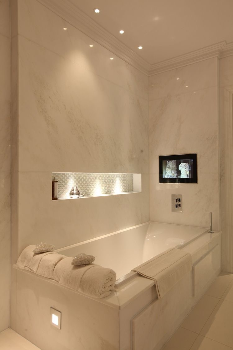 Modern luxury bathrooms dk decor for Luxury bathroom ideas uk