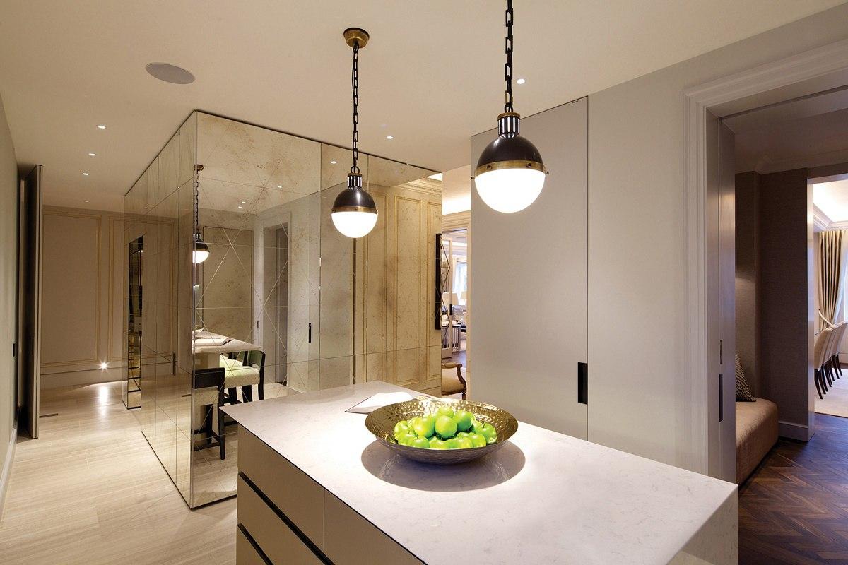 Mayfair luxury interior design kitchen A