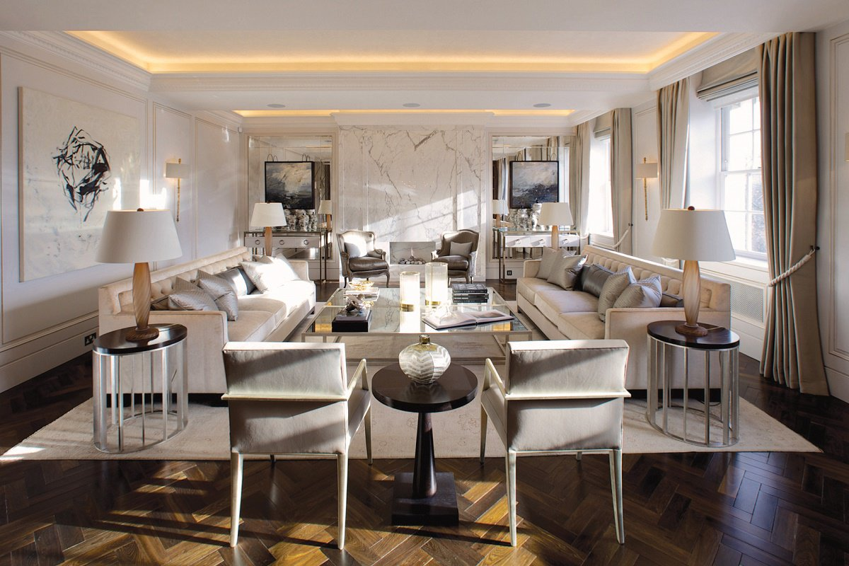 Mayfair Luxury Interior Design Reception Room A
