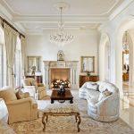 Mediterranean style living room