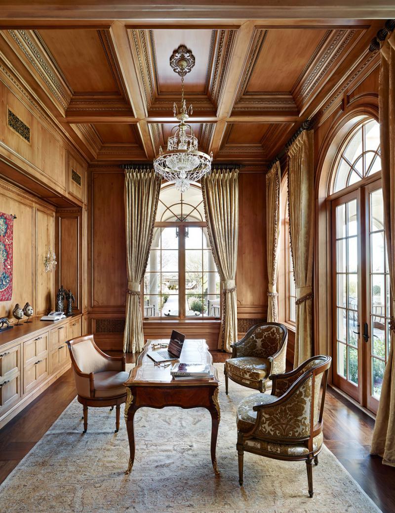 Mediterranean style office
