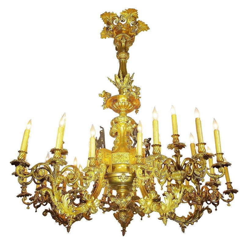 Chandeliers: Traditional Glamour
