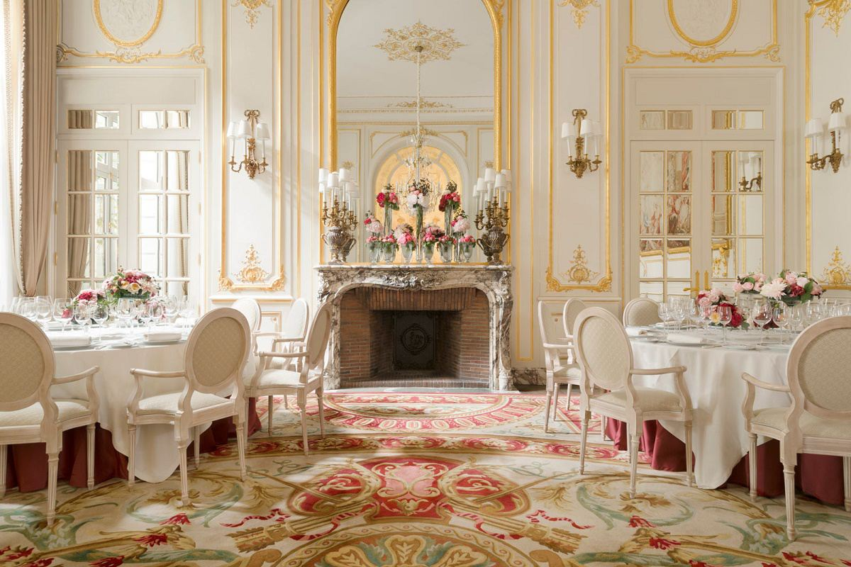 French design paris ritz reopens dk decor for Grand salon design