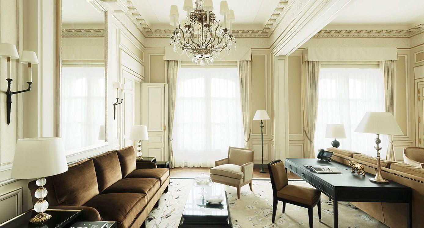 Paris Ritz Suite Coco Chanel Living Room