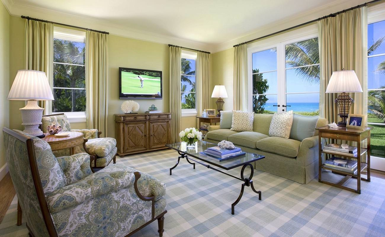 Venetian waterfront residence family room