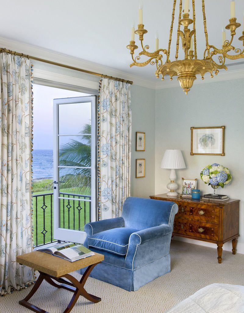 Venetian waterfront residence master bedroom detail