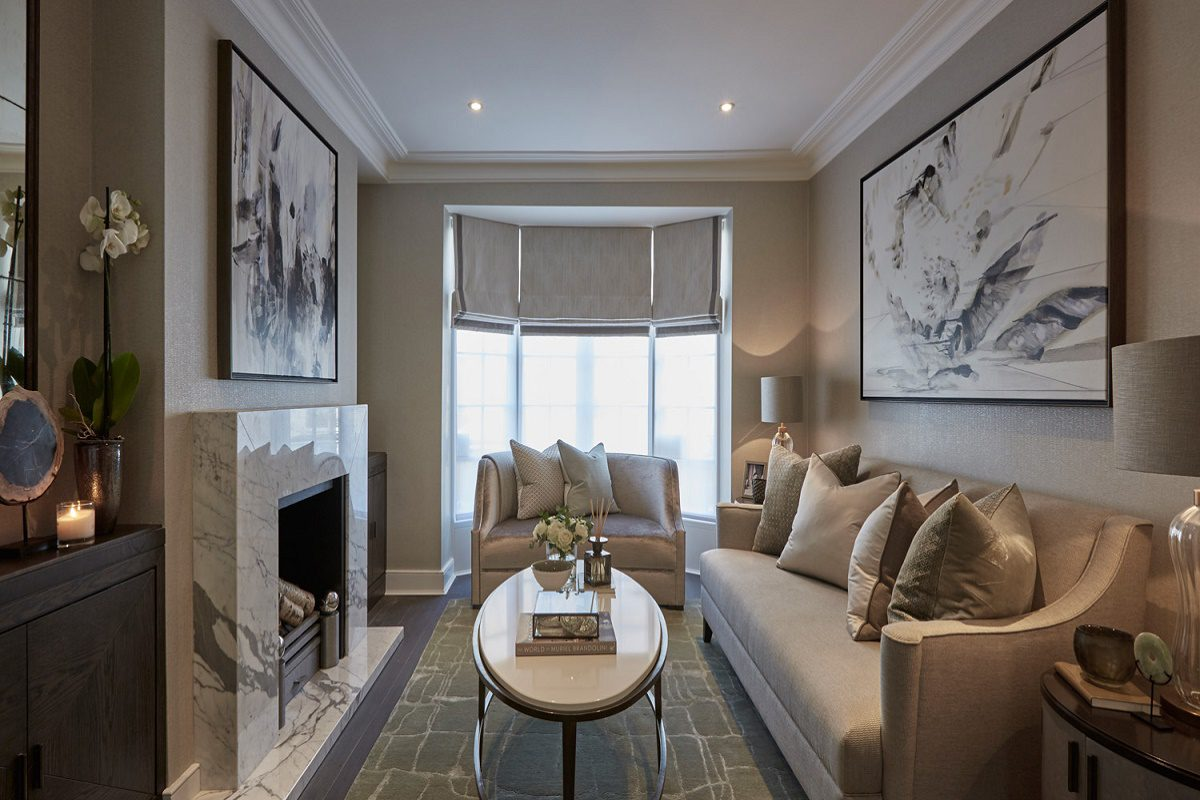 sophie paterson chelsea pied-a-terre contemporary classic living room B