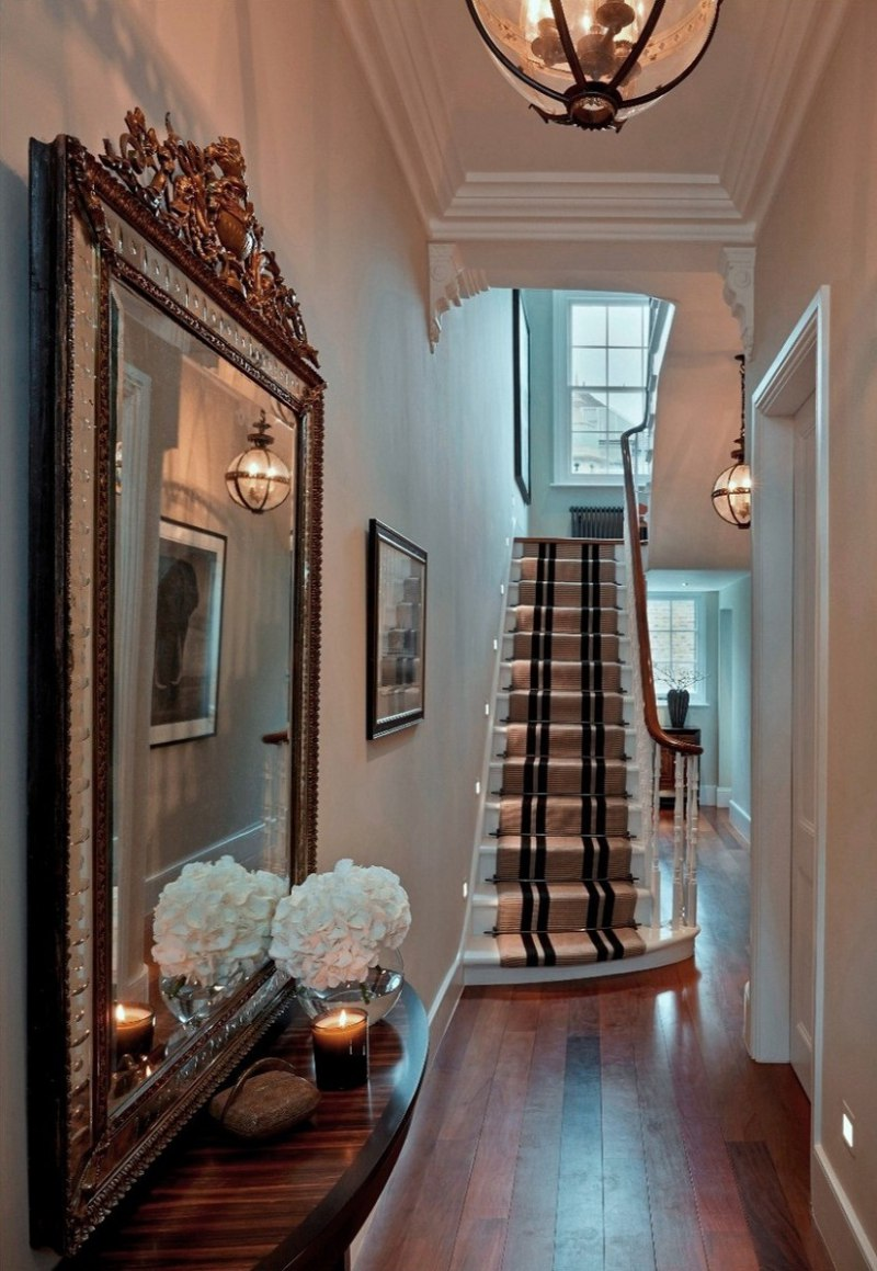 sophie paterson chelsea townhouse contemporary classic entrance hall