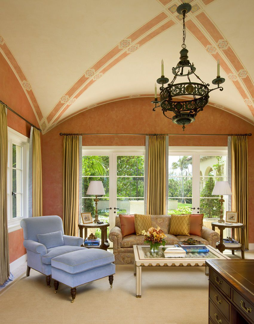 venetian waterfront residence library