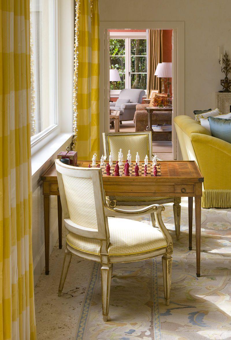 venetian waterfront residence living room detail