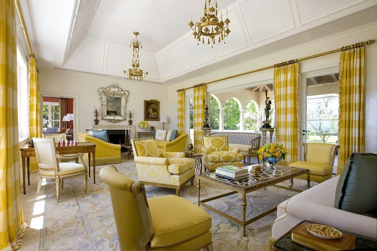 venetian waterfront residence main living room
