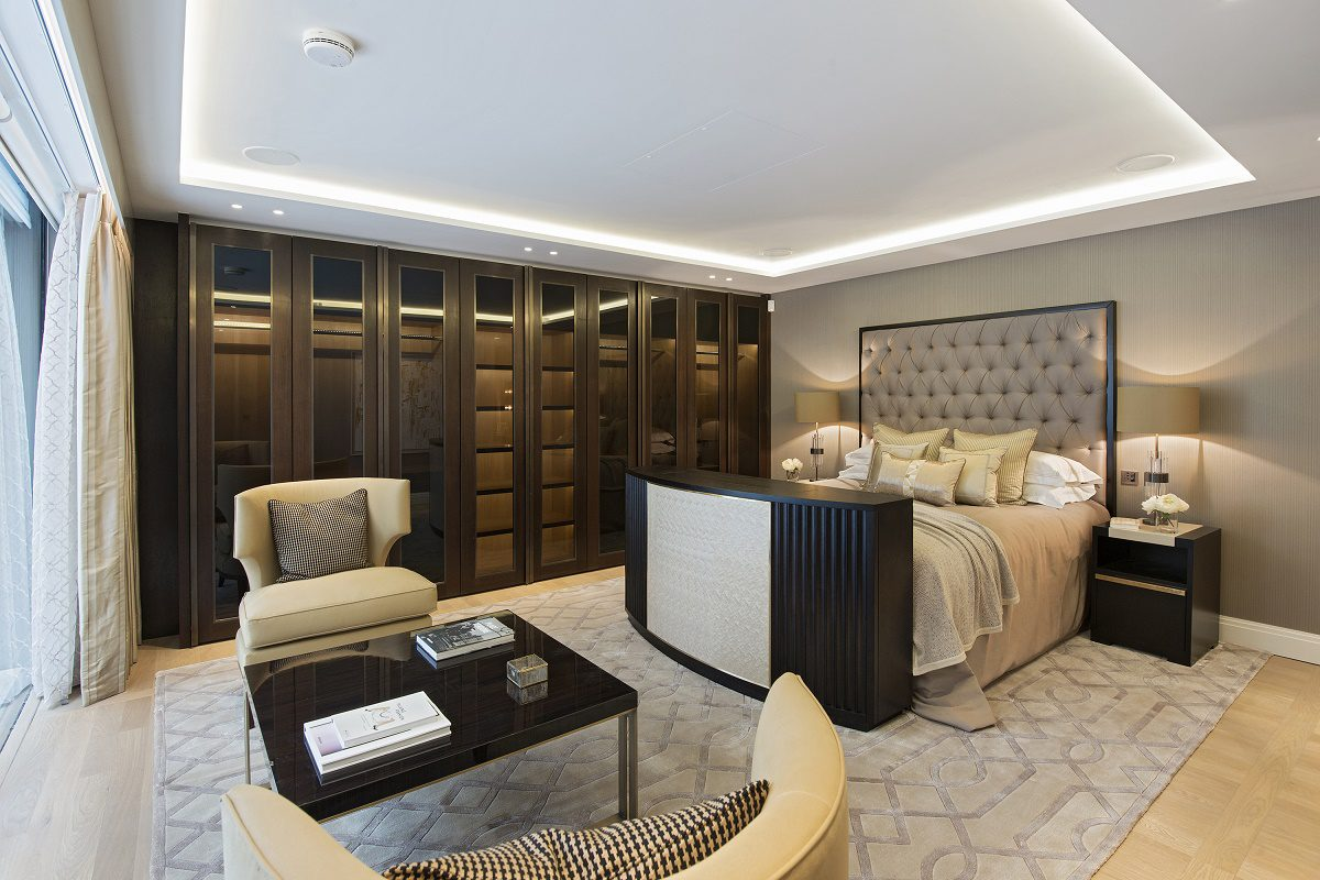 park crescent luxury homes bedroom suite A
