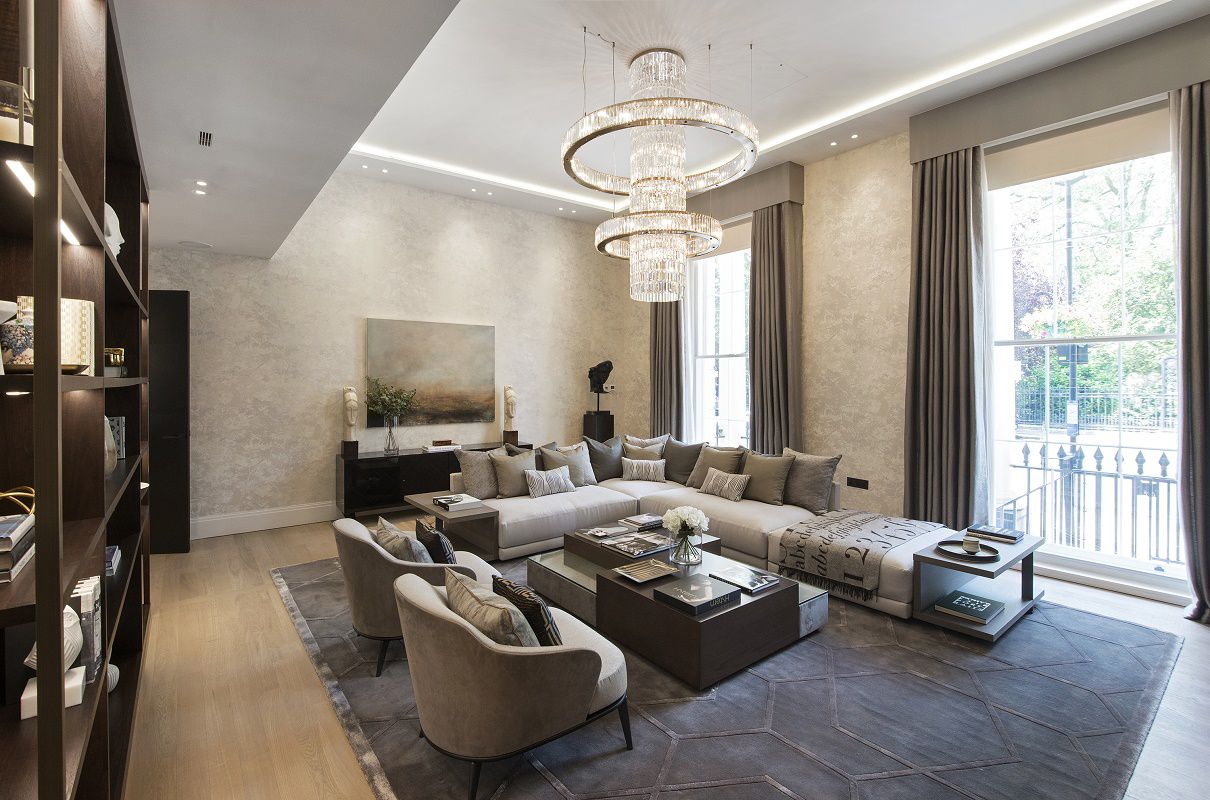 park crescent luxury living room a