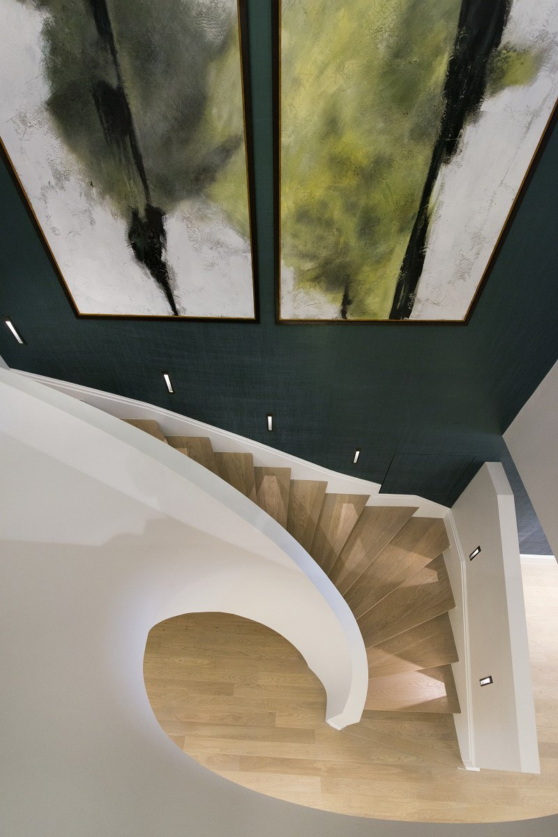 park crescent luxury homes staircase D
