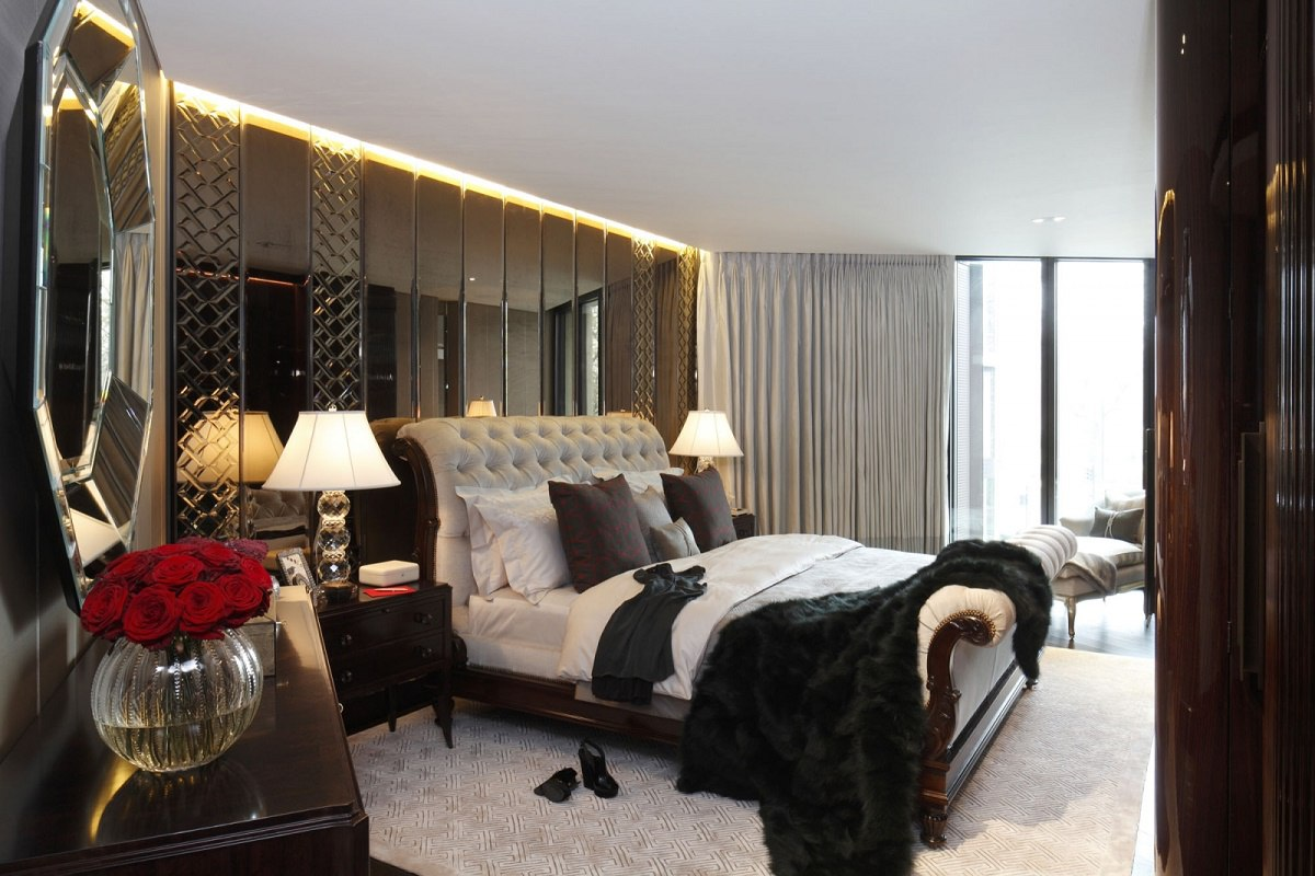 casa forma one hyde park bespoke design master bedroom