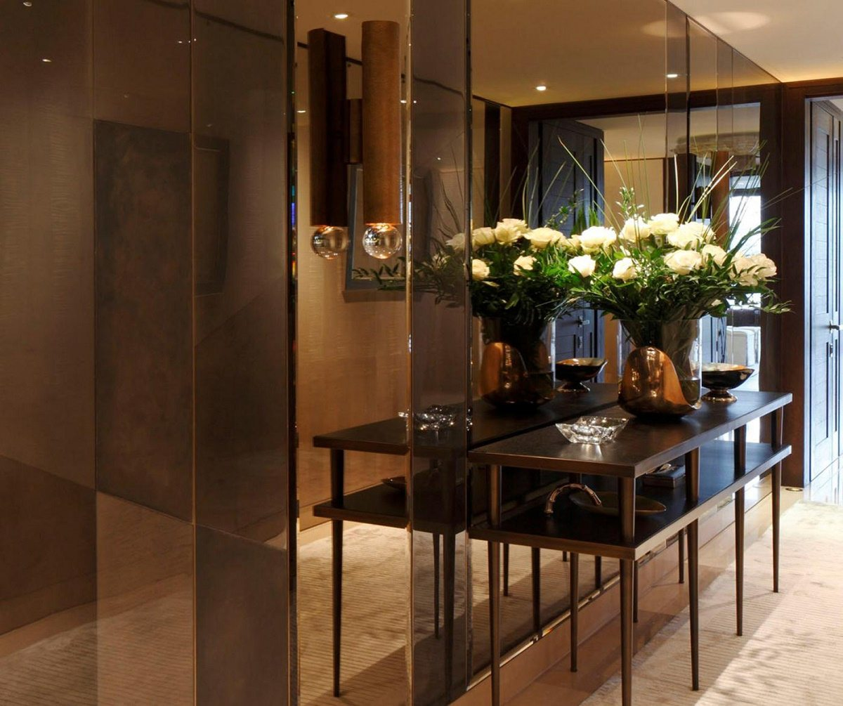casa forma one hyde park bespoke design central hall