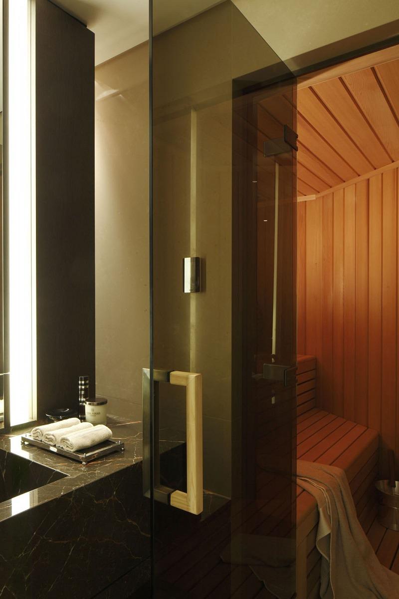 casa forma one hyde park dry sauna