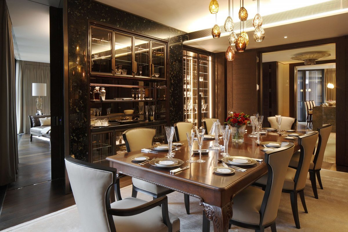 casa forma one hyde park formal bespoke design dining room
